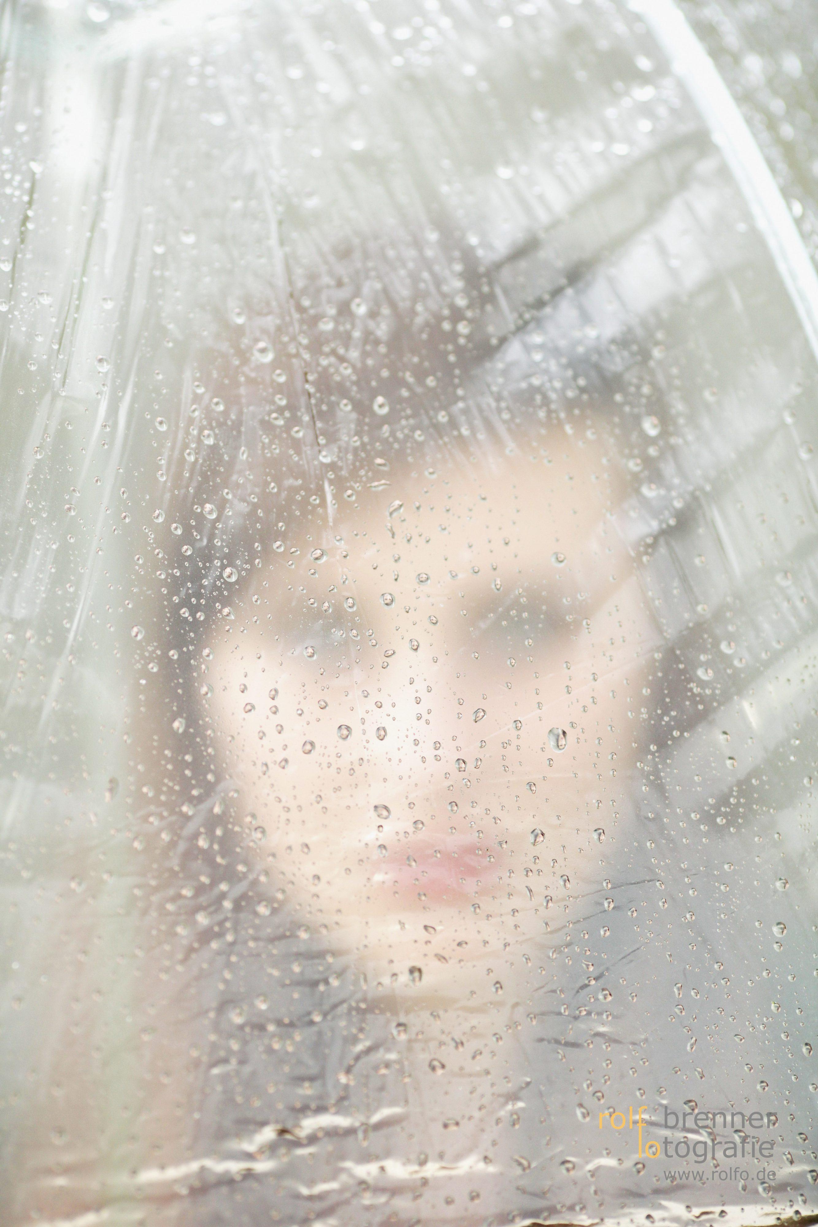 Regenschirm Portrait