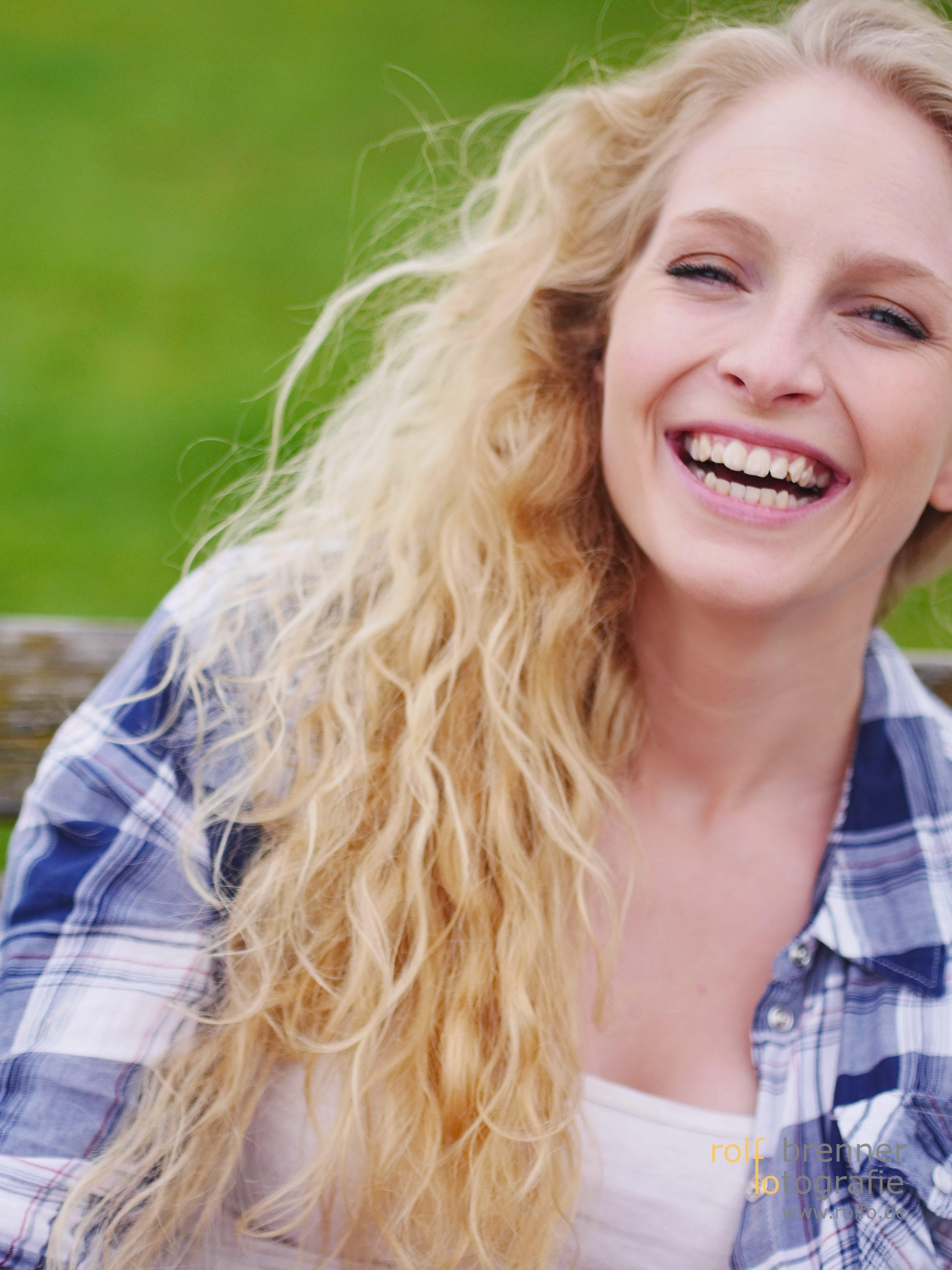 herzliches Lachen