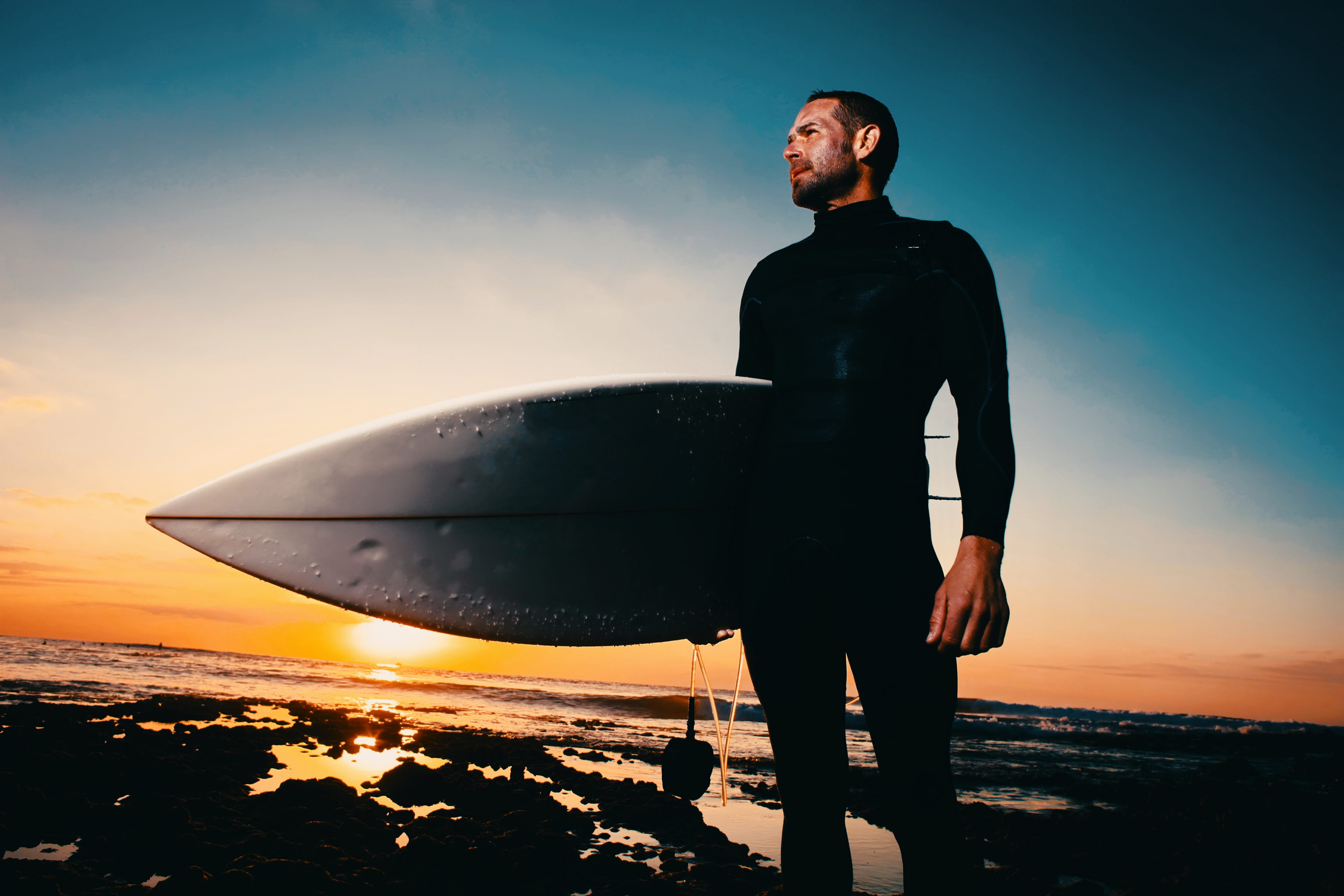 Surfer in Teneriffa