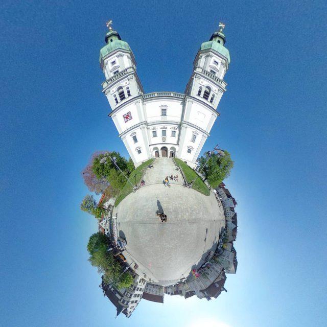 Türme der Lorenzkirche.