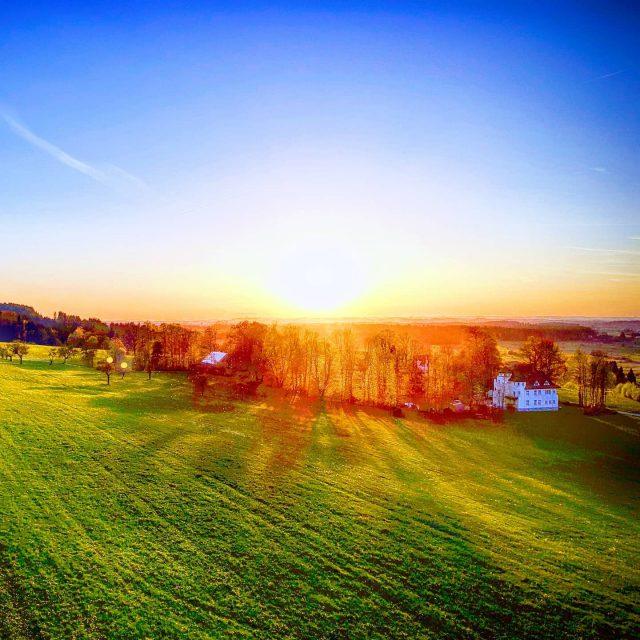 Blick von der Felderhalde in Richtung Rotmoos.