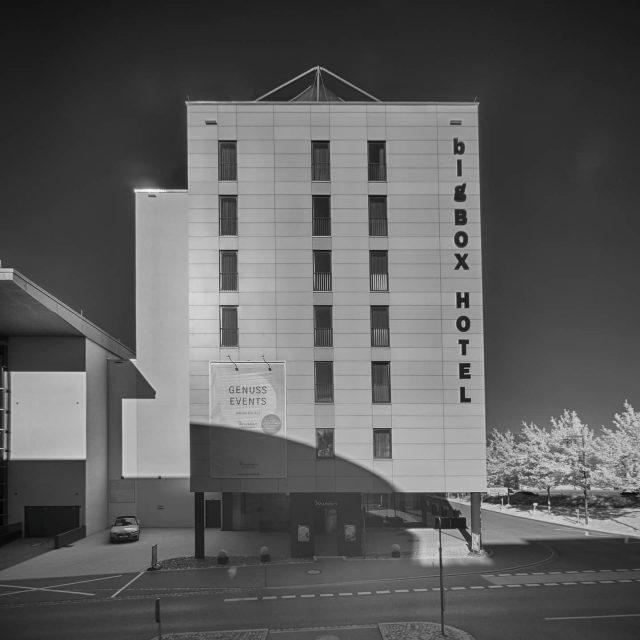BigBox Hotel in Kempten.