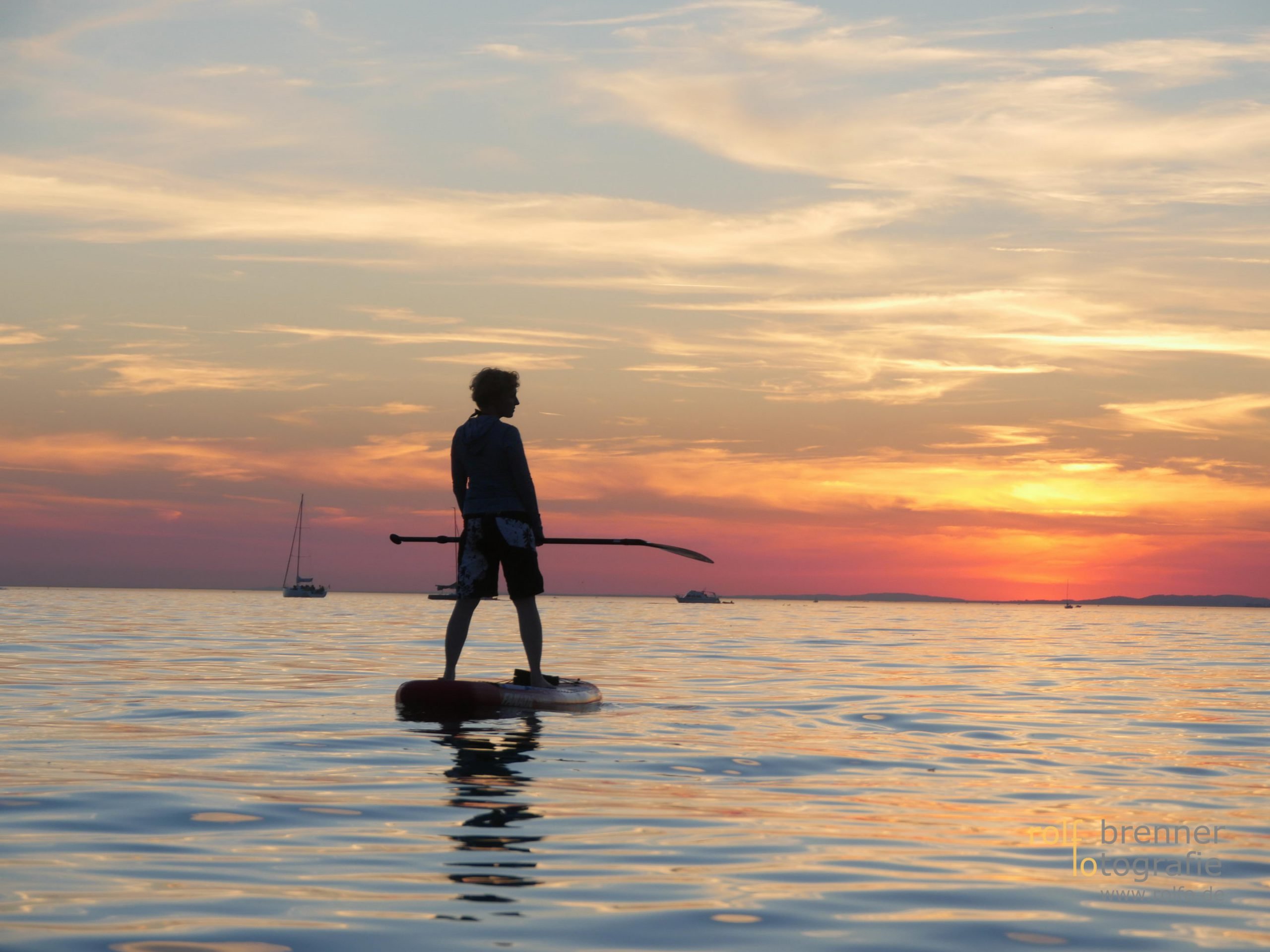 stand-up-paddling im Bodensee