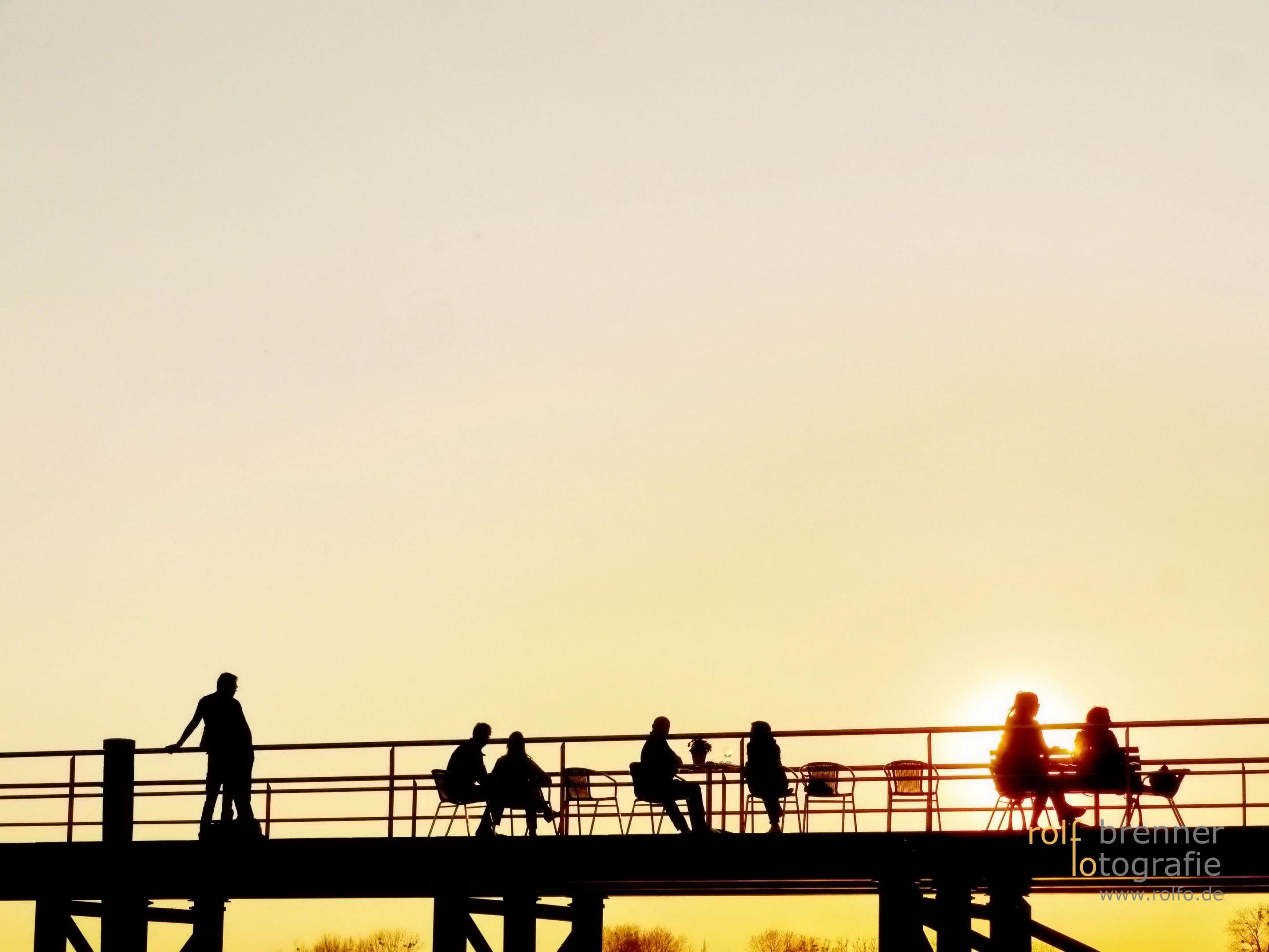 Sonnenuntergang bei Kressbronn