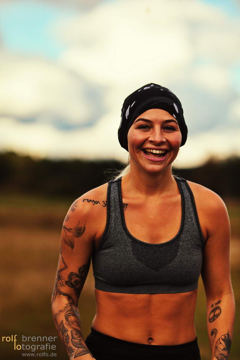 Fotoshooting Runner Läufer für Earebel Kopfhörer
